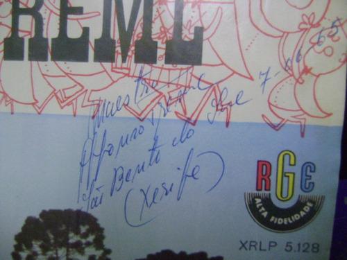 disco vinil lp banda treml autografado são bento do sul sc