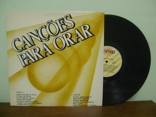 disco vinil lp canções para orar 1989 segura na mão deus