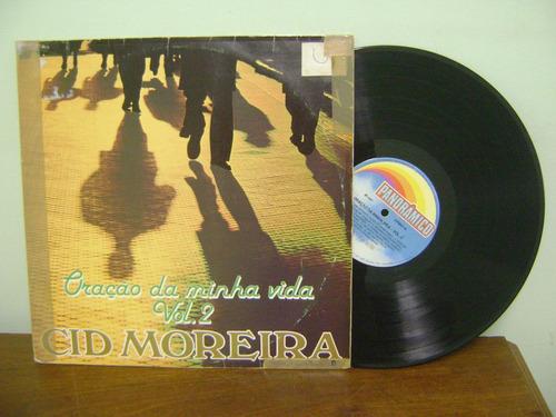 disco vinil lp cid moreira oração da minha vida vol. 2 1987