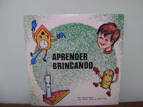 disco vinil lp compacto aprender brincando 1975