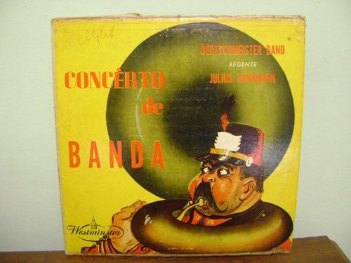 disco vinil lp concerto de banda deutschmeister