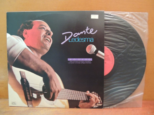 disco vinil lp dante ramon ledesma ao vivo