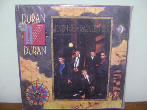 disco vinil lp duran duran seven and the ragged tiger 1983