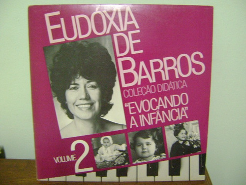 disco vinil lp eudóxia de barros evocando a infância vol 2