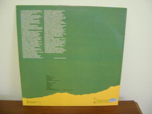 disco vinil lp fafá aprendizes da esperança hino 1985