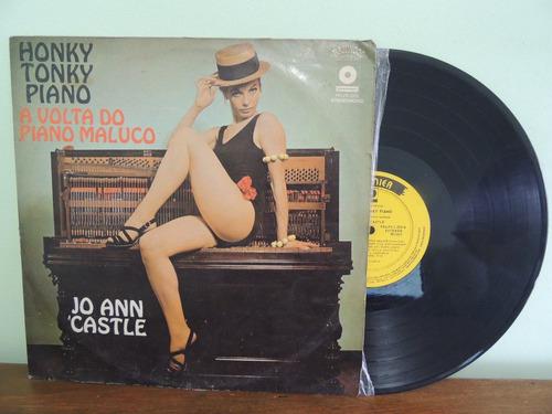 disco vinil lp honky tonky volta do piano maluco jo castle