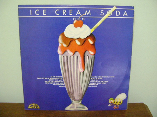 disco vinil lp ice cream soda hits - 1978