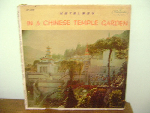disco vinil lp in a chinese temple garden ketelbey leonor