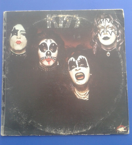 disco vinil lp kiss - kiss edicion usa 1974