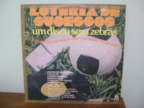 disco vinil lp loteria de sucessos disco sem zebras 1976