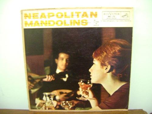 disco vinil lp neapolitan mandolins gino del vescovo