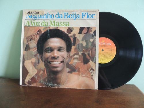 disco vinil lp neguinho da beija-flor a voz da massa - 1986