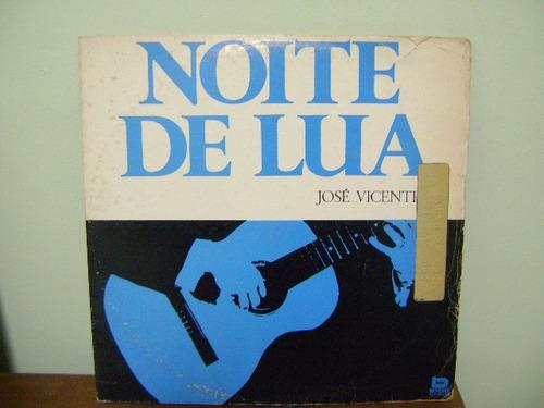 disco vinil lp noite de lua josé vicente - 1982