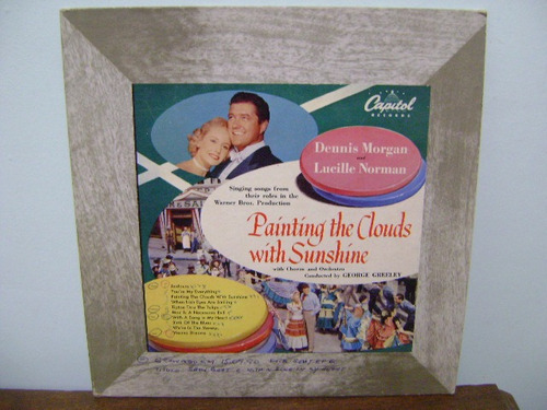 disco vinil lp painting the clouds with sunshine - morgan