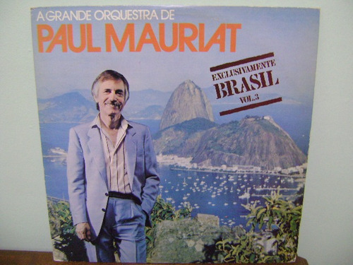 disco vinil lp paul mauriat exclusivamente brasil vol 3 1980