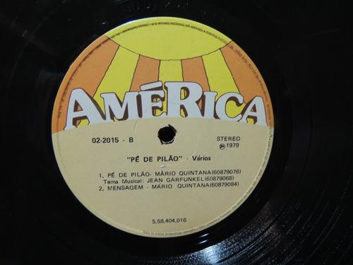 disco vinil lp pé de pilão mario quintana 1979