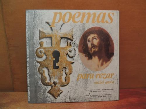 disco vinil lp poemas para rezar michel quoist