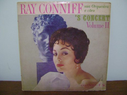 disco vinil lp ray conniff concert volume 2