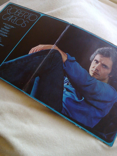 disco vinil lp roberto carlos na paz do seu sorriso 1979