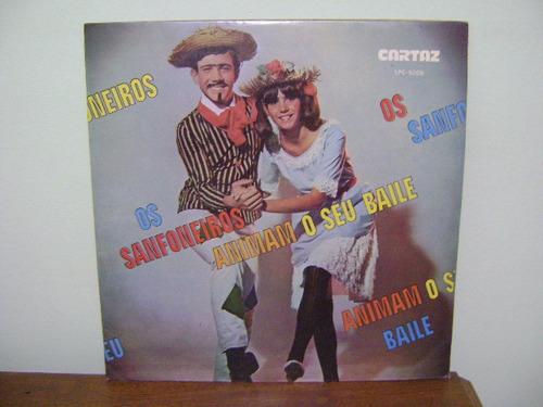 disco vinil lp sanfoneiros animam seu baile barril de chopp