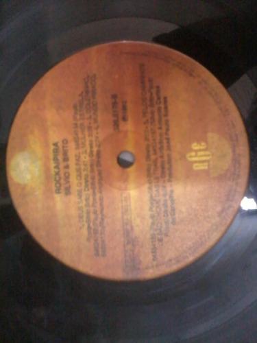 disco vinil lp - silvio e brito - rockaipira 1992