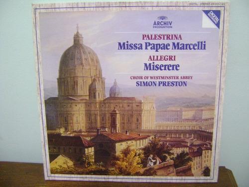 disco vinil lp simon preston choir of westminster abbey
