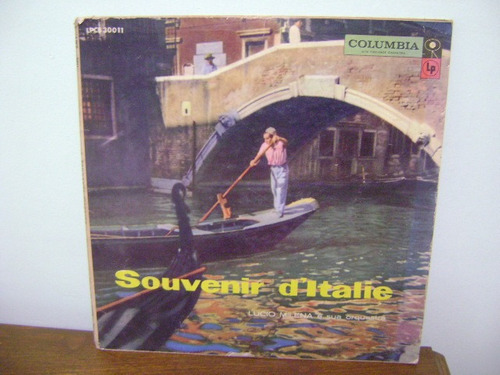 disco vinil lp souvenir d'italie lucio milena e orquestra