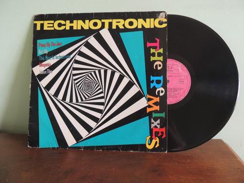 disco vinil lp technotronic the remixes -   1990