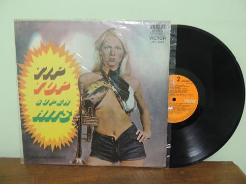 disco vinil lp  tip top super hits - 1974 - rca victor