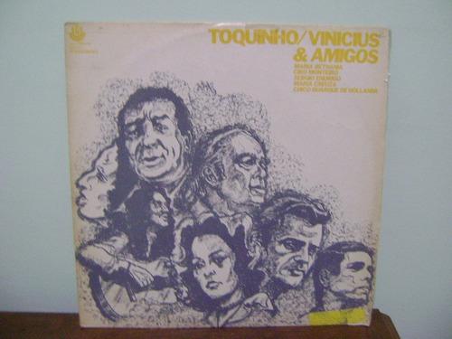 disco vinil lp toquinho vinicius amigos bethania chico 1973