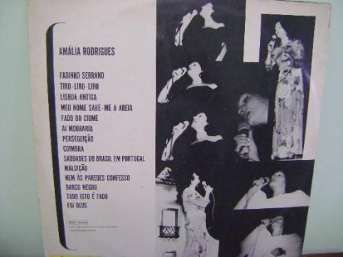 disco vinil lp um amor de amália - ao vivo no canecão 1973