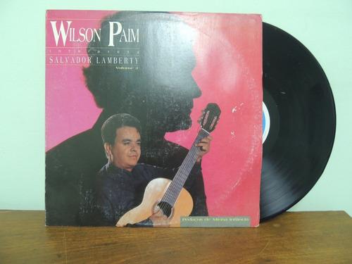 disco vinil lp  wilson paim interpreta salvador lamberty1993
