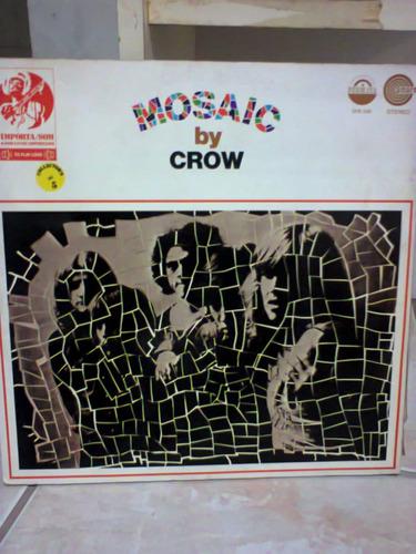 disco vinil mosaic by crow capa dupla promocional lp raro