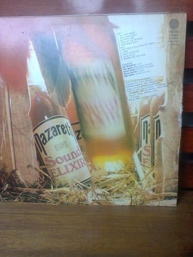 disco vinil nazareth sound elexir lp 1983