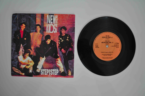disco vinil new kids on the block step by step compacto