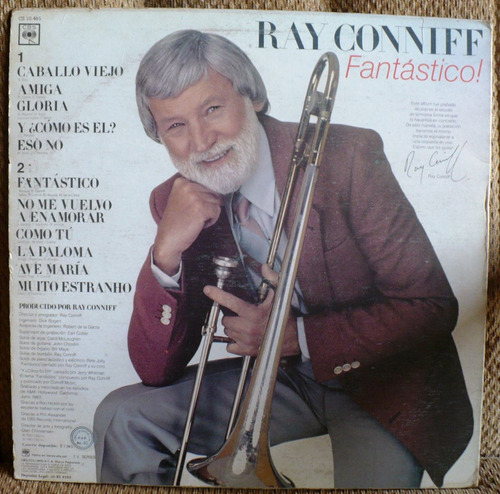 disco vinil ray conniff - fantastico