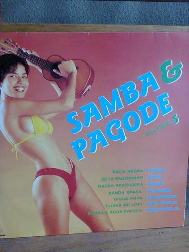 disco vinil samba e pagode vol.5 zeca,agepê,negritude jr.