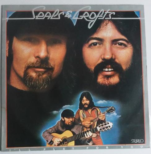 disco vinil seals & crofts i'll play for you lp 1975 raro