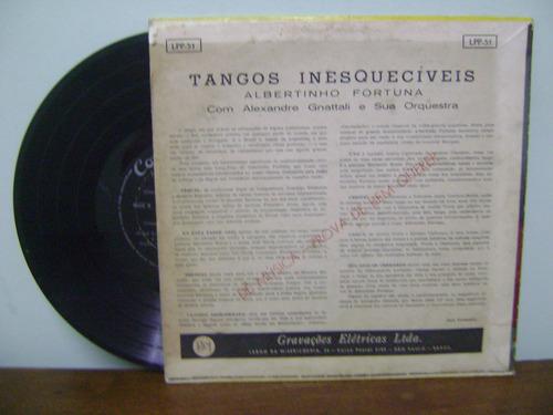 disco vinil tangos inesquecíveis albertino fortuna gnattali