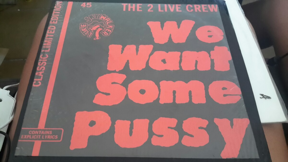 Really. 2 live crew we want some pussy lyrics agree, the
