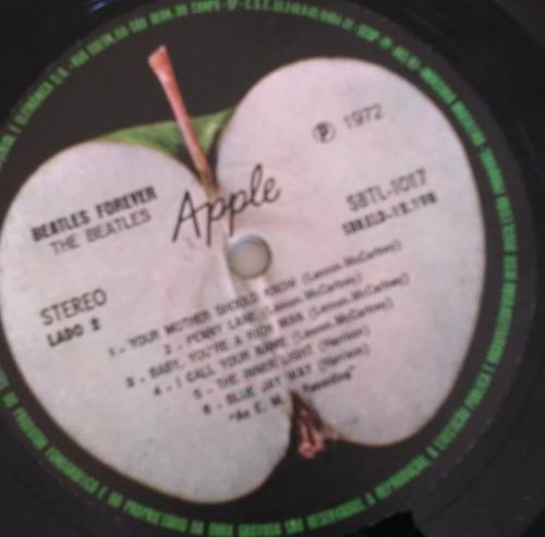 disco vinil the beatles forever 1972 lp c/encarte raro