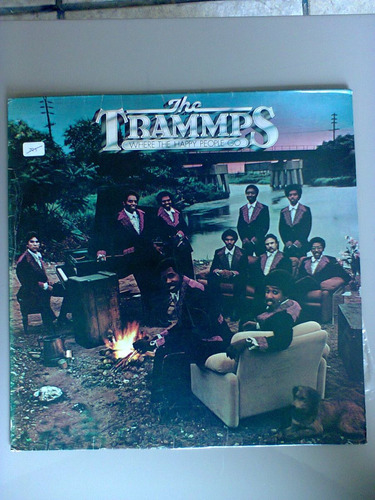 disco vinil the trammps where the happy people go