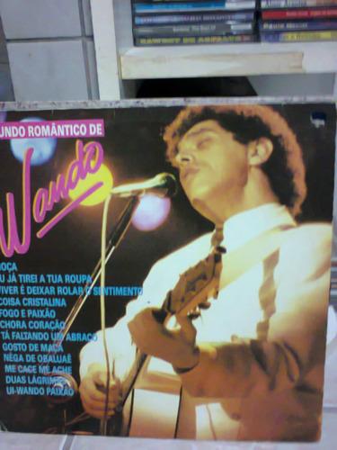 disco vinil wando o mundo romântico de lp