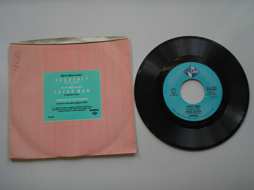 disco vinilo billy ocean suddenly  45rpm printed usa 1984