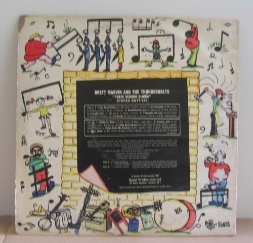 disco vinilo brett marvin & the thunderbolts lp 1971 uk