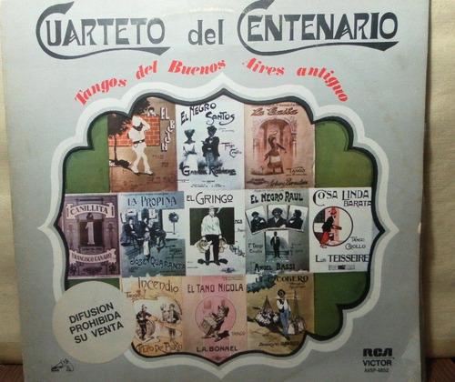 disco vinilo del cuarteto del centenario