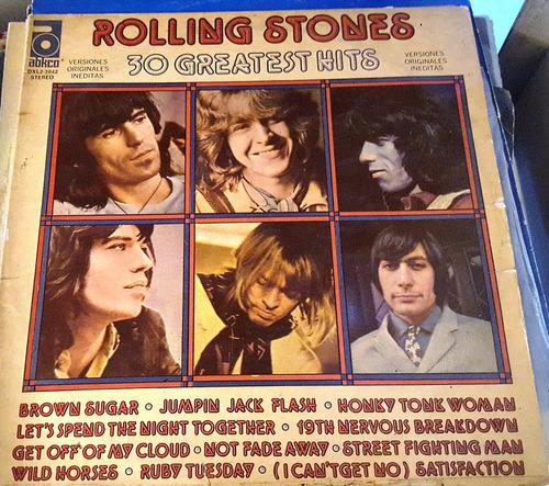 disco vinilo doble rolling stones 1977