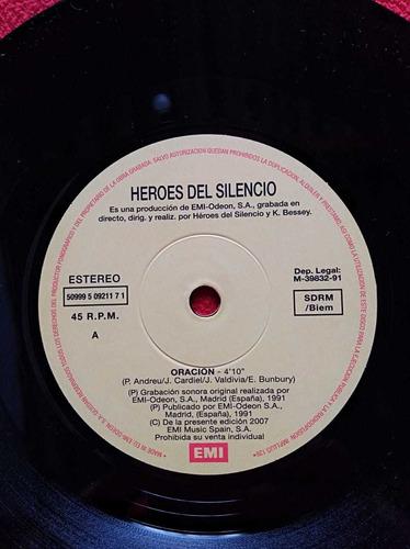 disco vinilo héroes del silencio de 45rpm.seminuevo europeo