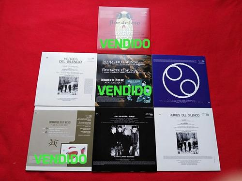 disco vinilo héroes del silencio, discos pequeños 7  single