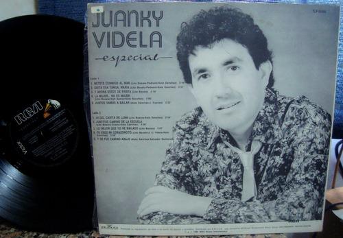 disco vinilo juanky videla especial promo cuarteto nm
